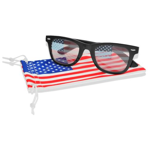 Foster Grant Men's Fashion-Surge Stars and Stripes Wayfarer