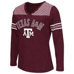 Colosseum Athletics™ Girls' Texas A&M University Cupie Long Sleeve T-shirt