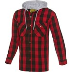 Brazos® Men's Blacksmith Hooded Flannel Shirt Jacket