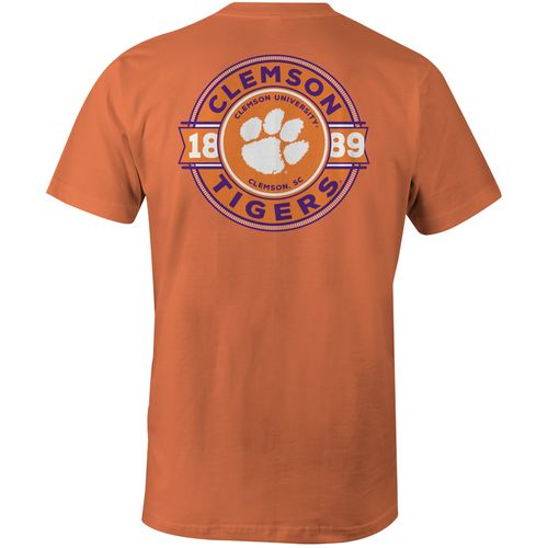 Image One Men's Clemson University Rounds Comfort Color T-shirt - view number 1