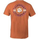 Image One Men's Clemson University Rounds Comfort Color T-shirt