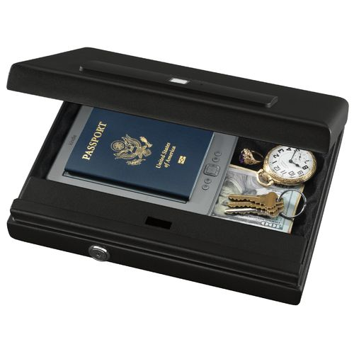 Stack-On Large Biometric Lock Security Case