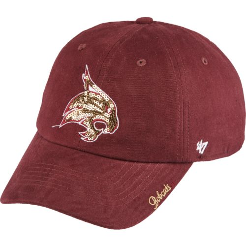 '47 Texas State University Women's Sparkle Clean-Up Cap