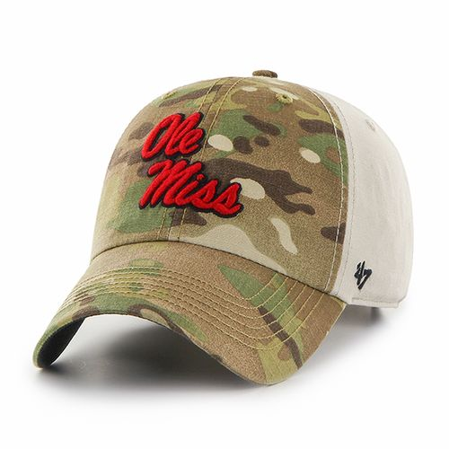 '47 University of Mississippi Sumner Camo Cap