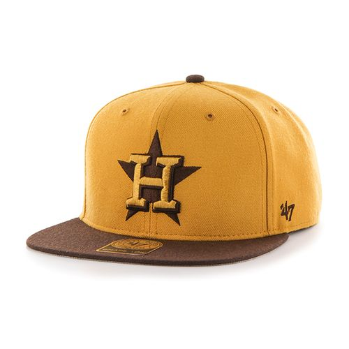 '47 Houston Astros No Shot 2-Tone Captain Cap