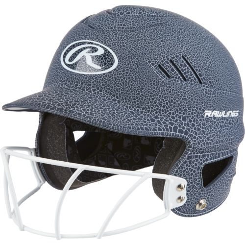 Rawlings® Women's Crackle Softball Helmet with Face Mask