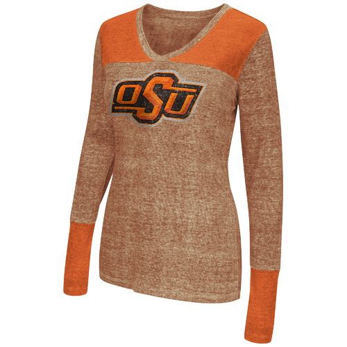 Touch by Alyssa Milano Women's Oklahoma State University Goal Line Top