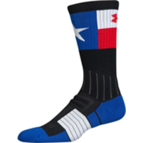 Under Armour Men's Unrivaled Texas Flag Crew Socks - view number 5