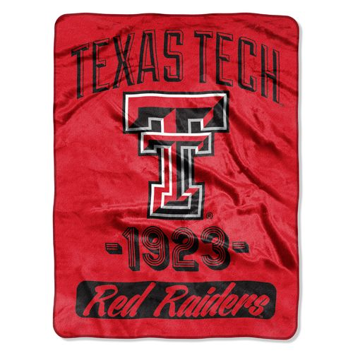 The Northwest Company Texas Tech University 40 Yard Dash Micro Raschel Throw