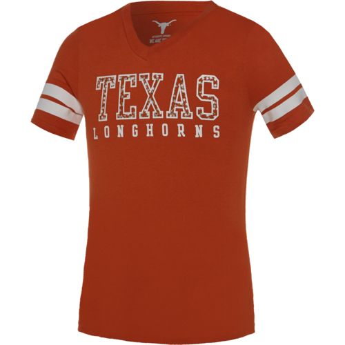 289c Apparel Girls' University of Texas Tony T-shirt
