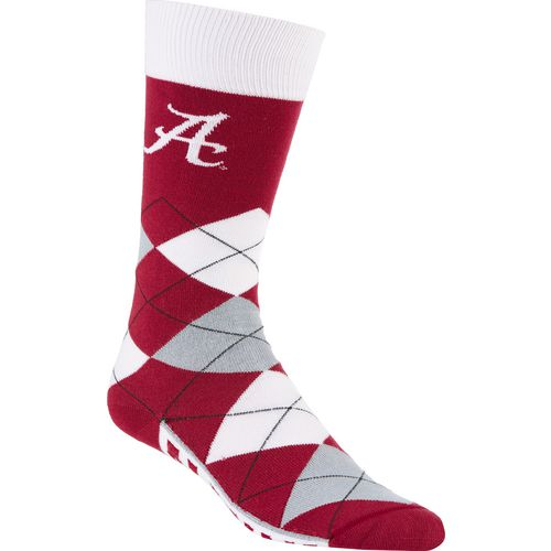 For Bare Feet Adults' University of Alabama Team Pride Flag Top Dress Socks