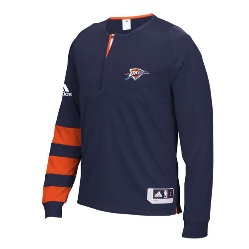 adidas™ Men's Oklahoma City Thunder Long Sleeve Shooter