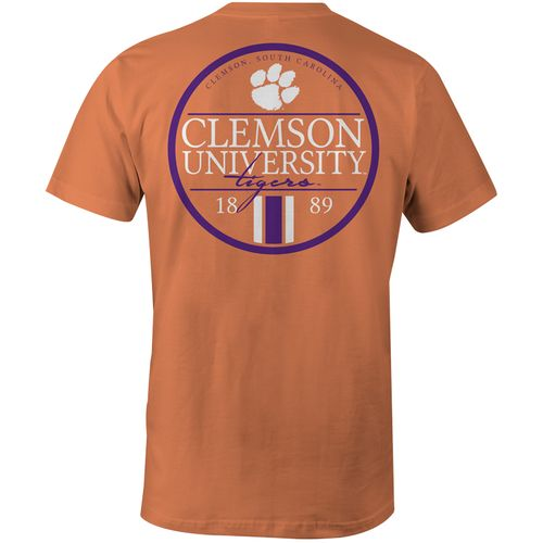 Image One Men's Clemson University Simple Circle Lines