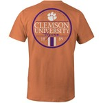 Image One Men's Clemson University Simple Circle Lines T-shirt