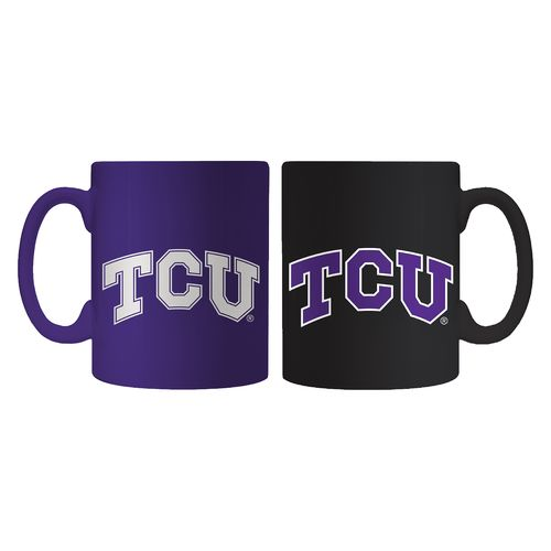 Boelter Brands Texas Christian University Home and Away Mug Set