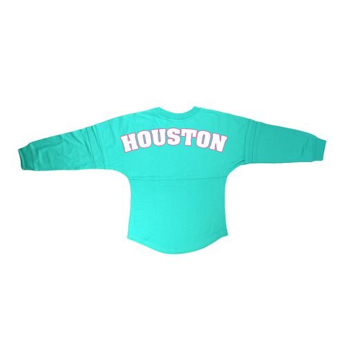 Boxercraft Women's University of Houston Flower Print Pom-Pom Jersey