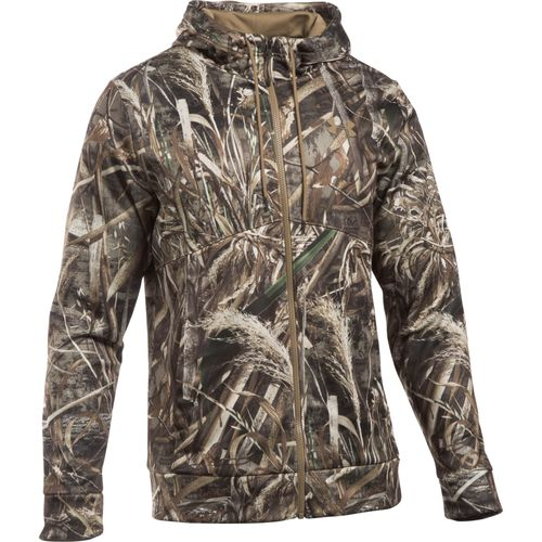 Under Armour Men's Franchise Camo Full Zip Hoodie