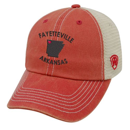 Top of the World Women's University of Arkansas Roots Cap