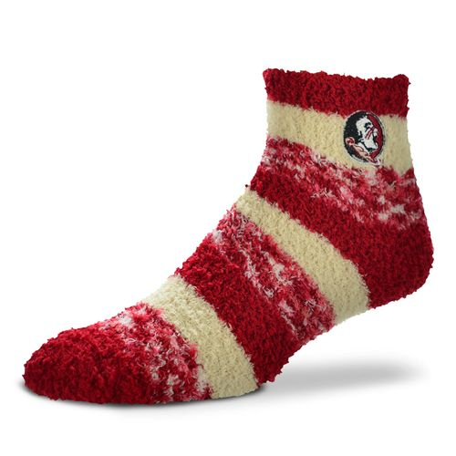 FBF Originals Women's Florida State University Pro Stripe Sleep Soft Socks