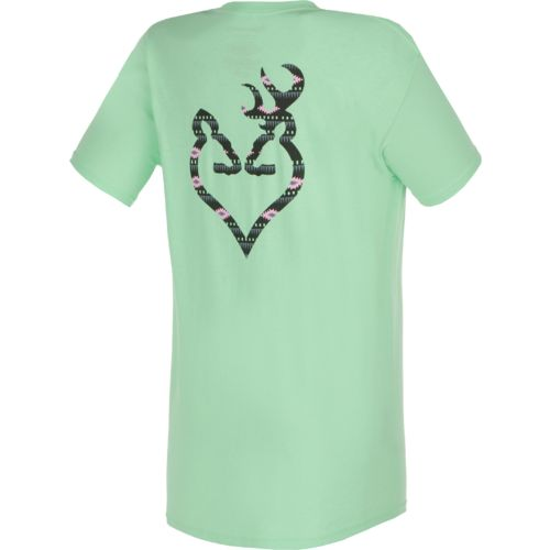 Browning Women's Native 2 Buckmark T-shirt - view number 1