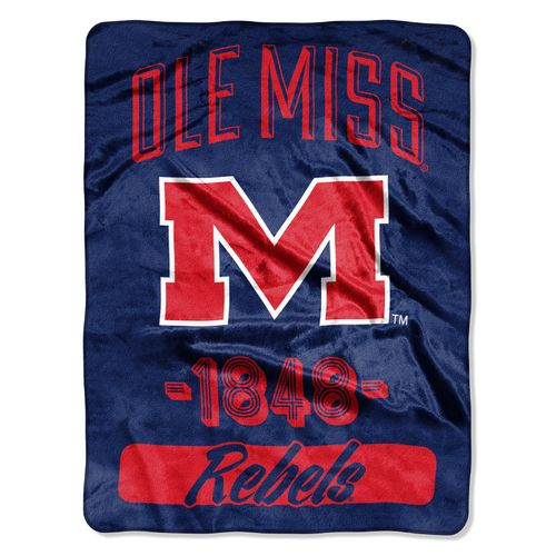 The Northwest Company University of Mississippi Micro Raschel Throw