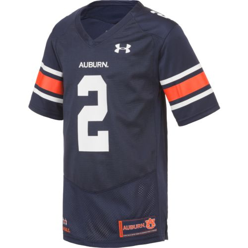 Under Armour Boys' University of Auburn No. 2 Replica Football Jersey