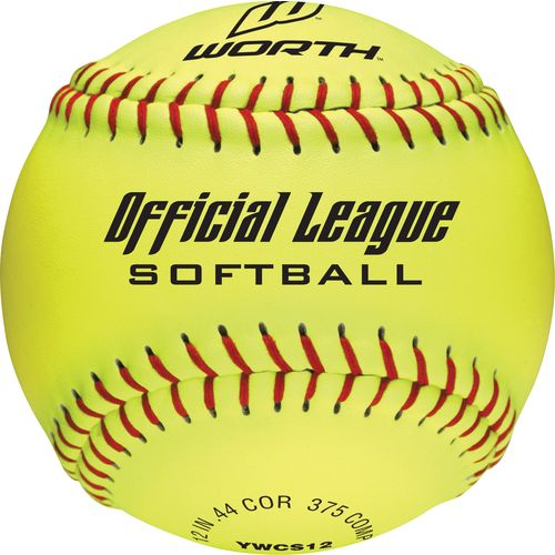 Worth Recreational 12 in Women's Slow-Pitch Softballs