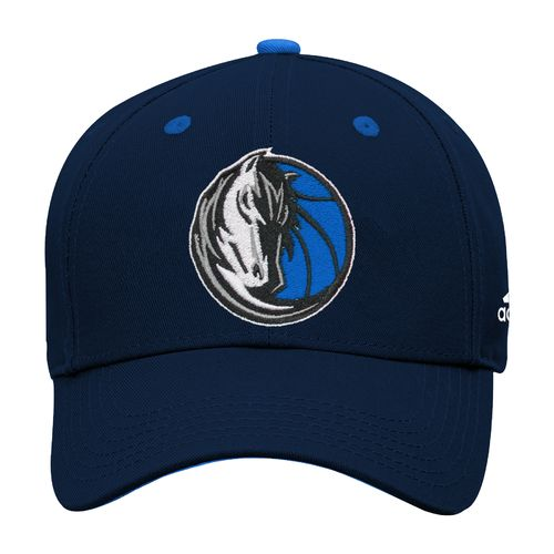 adidas Boys' Dallas Mavericks Solid Basic Structured Cap