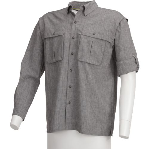 Magellan Outdoors Men's Back Country Heather Long Sleeve Shirt