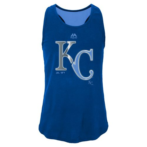 MLB Girls' Kansas City Royals Stadium Graphic Tank Top