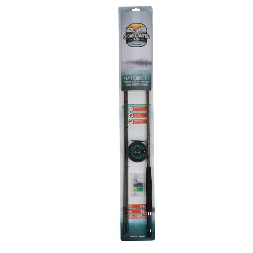 """Display product reviews for Shakespeare® Cedar Canyon 8'6"""" Fly Rod Outfit"""