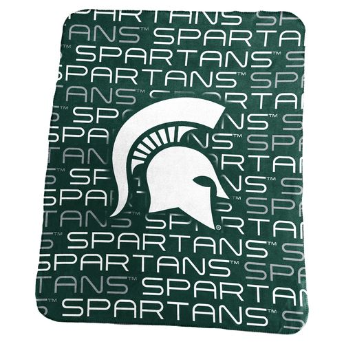 Logo Michigan State University 50 in x 60 in Classic Fleece Blanket