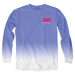 Blue 84 Women's University of Kansas Ombré Long Sleeve Shirt - view number 2