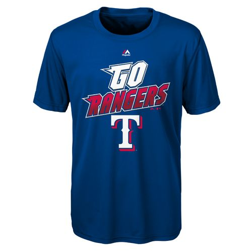 MLB Boys' Texas Rangers Loud Speaker T-shirt