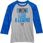 Under Armour Boys' Swing Like A Legend 3/4-Length Sleeve Shirt - view number 4
