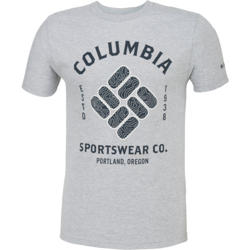 Columbia Sportswear Men's Crew Neck Graphic T-shirt