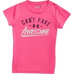 Under Armour Girls' Can't Fake Awesome T-shirt - view number 4