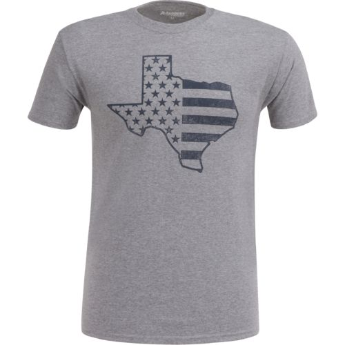 Academy Sports + Outdoors Men's Texas American Flag T-shirt - view number 1