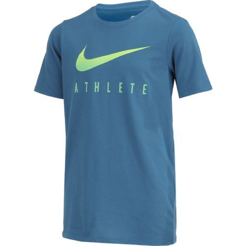 Nike Boys' Swoosh Athletic Heat T-shirt - view number 3