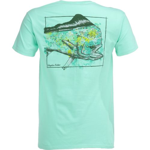 Magellan Outdoors Men's Water Drawn Mahi T-shirt