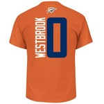Majestic Youth Oklahoma City Thunder Russell Westbrook 0 Name And Number T-shirt - view number 1