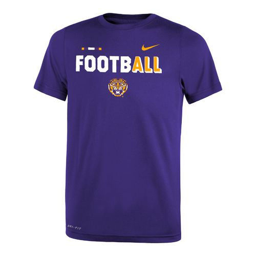 Nike™ Boys' Louisiana State University Legend Football T-shirt - view number 1