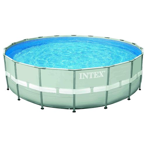 INTEX 18 ft x 48 in Ultra Frame Round Pool Set