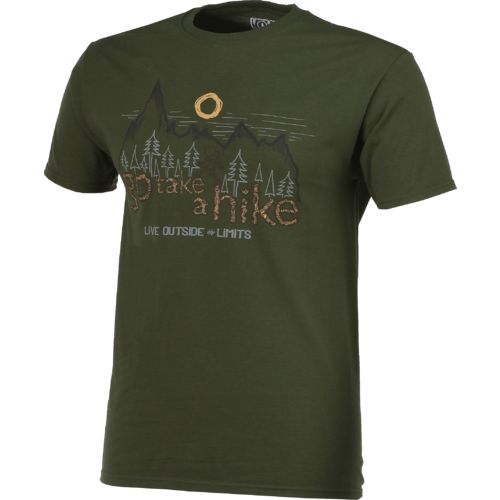 Live Outside the Limits Men's Go Take a Hike T-shirt - view number 2