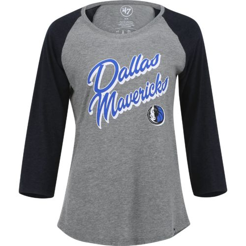 '47 Women's Dallas Mavericks Wordmark Club T-shirt