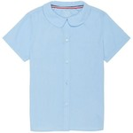 French Toast Girls' Modern Peter Pan Uniform Blouse - view number 1