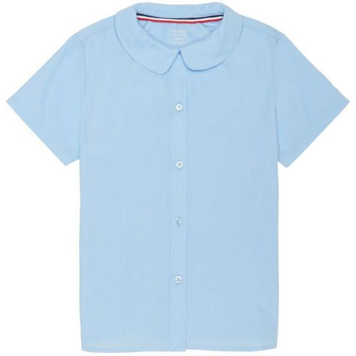 French Toast Girls' Modern Peter Pan Uniform Blouse