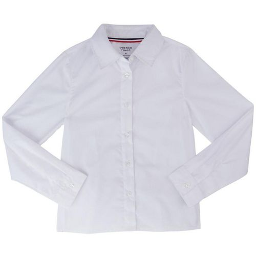 French Toast Girls' Long Sleeve Pointed Collar Blouse - view number 1