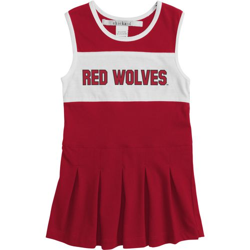 Chicka-d Girls' Arkansas State University Cheerleader Dress