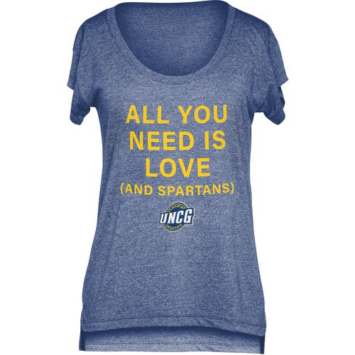 Chicka-d Women's University of North Carolina at Greensboro Scoop-Neck T-shirt